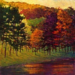 Color at the Lake by Ken Elliott (Giclee Print)