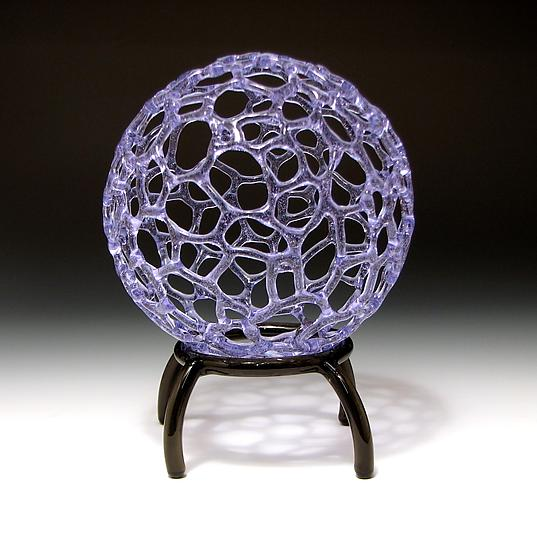 Lavender Sphere with Stand