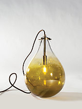 Teardrop Table Lamp by Tracy Glover (Art Glass Table Lamp)