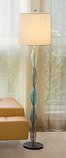 Marquise Floor Lamp by Tracy Glover (Art Glass Floor Lamp)