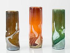 Vapor Vase by Tracy Glover (Art Glass Vase)