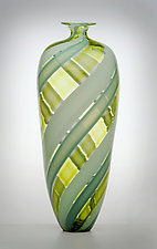 Tessera Bottle by Nicholas Kekic (Art Glass Bottle)