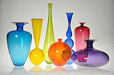 Transparent Forms by Nicholas Kekic (Art Glass Vessel)