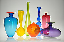 Transparent Forms by Nicholas Kekic (Art Glass Vessel)