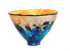 Cityscapes by Cheryl Williams (Ceramic Bowl)