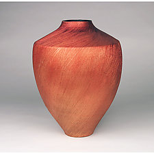Textured Vase by Cheryl Williams (Ceramic Vase)