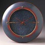 Blue Wall Clock by Peter F. Dellert (Wood Clock)