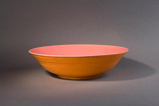 Orange and Pink Bowl