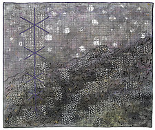 Elements No. 11: Snow by Michele Hardy (Fiber Wall Hanging)