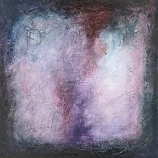 Amethyst Flame by Marsh Scott (Acrylic Painting)
