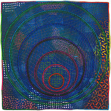 Circles #29 by Michele Hardy (Fiber Wall Hanging)