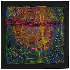 Elements #9 by Michele Hardy (Fiber Wall Hanging)
