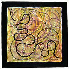 Directions #17 by Michele Hardy (Fiber Wall Hanging)