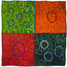 Geoforms: Porosity #13 by Michele Hardy (Fiber Wall Hanging)