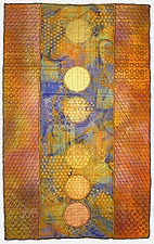 Geoforms: Porosity #15 by Michele Hardy (Fiber Wall Hanging)