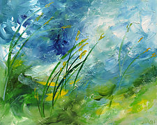 Breezy Meadow by Marsh Scott (Acrylic Painting)