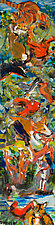 Red Bird by Shannon Bueker (Acrylic Painting)