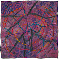 Geoforms: Fractures #1 by Michele Hardy (Fiber Wall Hanging)