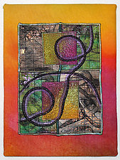 Surfaces #2 by Michele Hardy (Fiber Wall Hanging)
