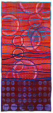Geoforms: Strata #4 by Michele Hardy (Fiber Wall Hanging)