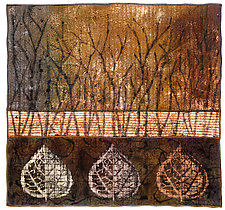 Surfaces #7 by Michele Hardy (Fiber Wall Hanging)