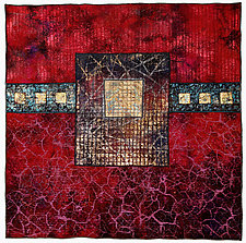 Surfaces #5 by Michele Hardy (Fiber Wall Hanging)
