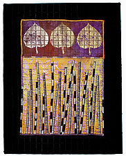 Naturals #10 by Michele Hardy (Fiber Wall Hanging)