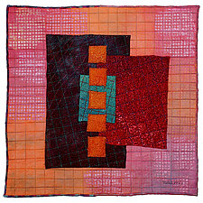 Gems #18 by Michele Hardy (Fiber Wall Hanging)