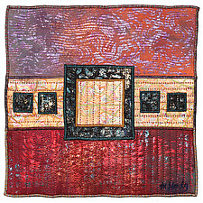 Surfaces #16 by Michele Hardy (Fiber Wall Hanging)