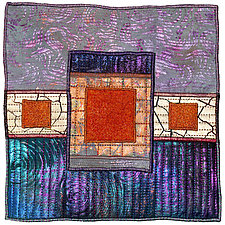 Surfaces #17 by Michele Hardy (Fiber Wall Fiber)