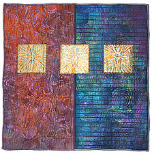 Surfaces #18 by Michele Hardy (Fiber Wall Hanging)