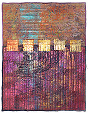 Surfaces #20 by Michele Hardy (Fiber Wall Hanging)