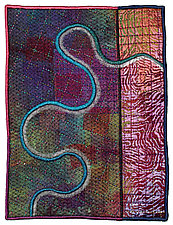 Mapforms #13 by Michele Hardy (Fiber Wall Hanging)