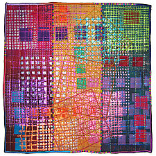 Tiles #3 by Michele Hardy (Fiber Wall Hanging)