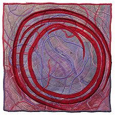 Directions #20 by Michele Hardy (Fiber Wall Hanging)