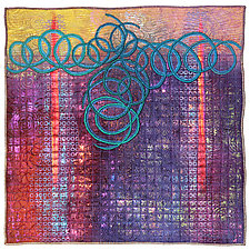 Surfaces #26 by Michele Hardy (Fiber Wall Hanging)