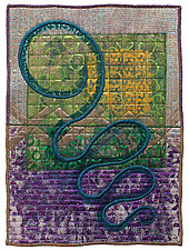Directions #22 by Michele Hardy (Fiber Wall Hanging)