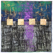 Surfaces #12 by Michele Hardy (Fiber Wall Hanging)
