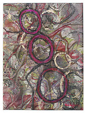 Dimensions #6 by Michele Hardy (Mixed-Media Wall Hanging)