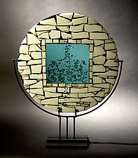 Portal by Vicky Kokolski and Meg Branzetti (Art Glass Sculpture)