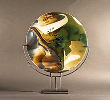 Reactions by Vicky Kokolski and Meg Branzetti (Art Glass Sculpture)