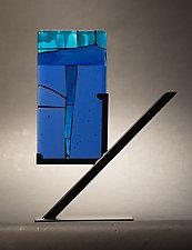 Mini Art Beneath by Vicky Kokolski and Meg Branzetti (Art Glass Sculpture)
