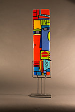 Addison by Vicky Kokolski and Meg Branzetti (Art Glass Sculpture)