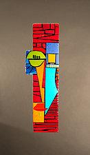 Archie by Vicky Kokolski and Meg Branzetti (Art Glass Sculpture)