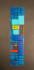 Off the BQE by Vicky Kokolski and Meg Branzetti (Art Glass Sculpture)