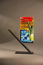 Mini Garden by Vicky Kokolski and Meg Branzetti (Art Glass Sculpture)