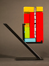 Mini Art: Lighter Side by Vicky Kokolski and Meg Branzetti (Art Glass Sculpture)