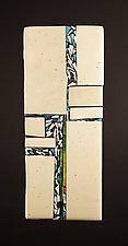 Direction III by Vicky Kokolski and Meg Branzetti (Art Glass Wall Sculpture)