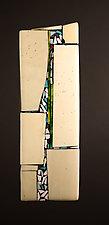 Direction I by Vicky Kokolski and Meg Branzetti (Art Glass Wall Sculpture)