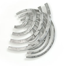 Soundwaves B by Marsh Scott (Metal Wall Sculpture)